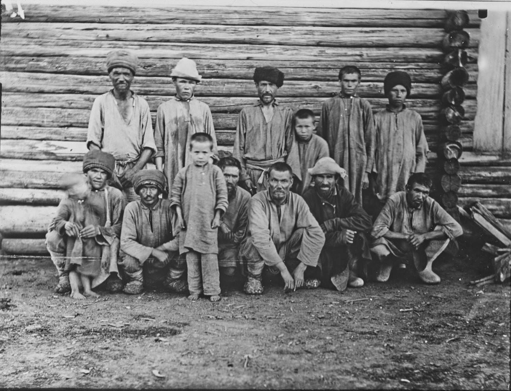 Вятская губерния. Черемисы в окрестностях Елабуги