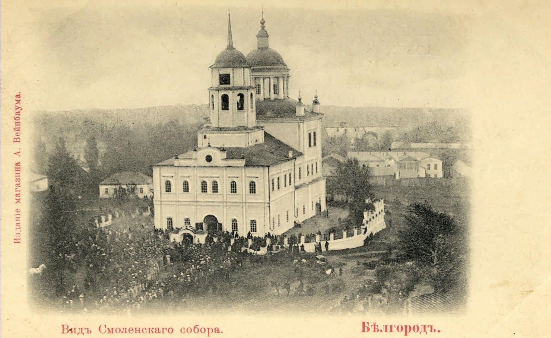 Вид Смоленского собора