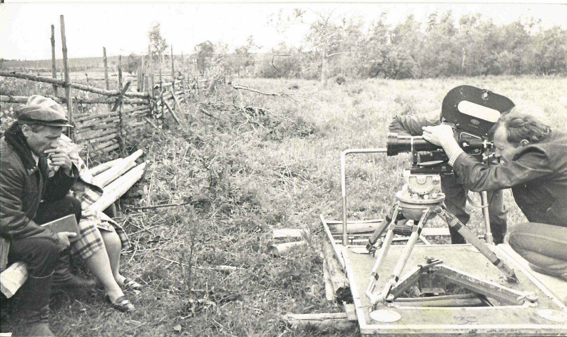 1973. Фотографии со съёмок фильма «Калина красная»