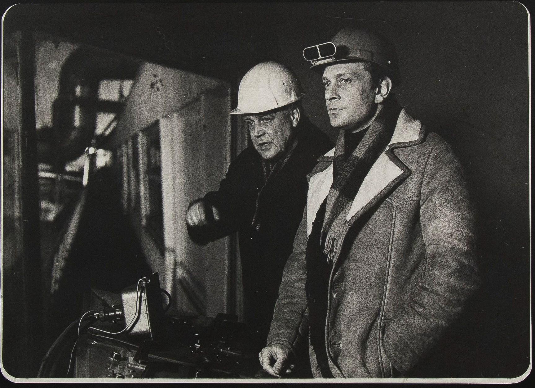 1981. Фотографии со съёмок фильма «От зимы до зимы»