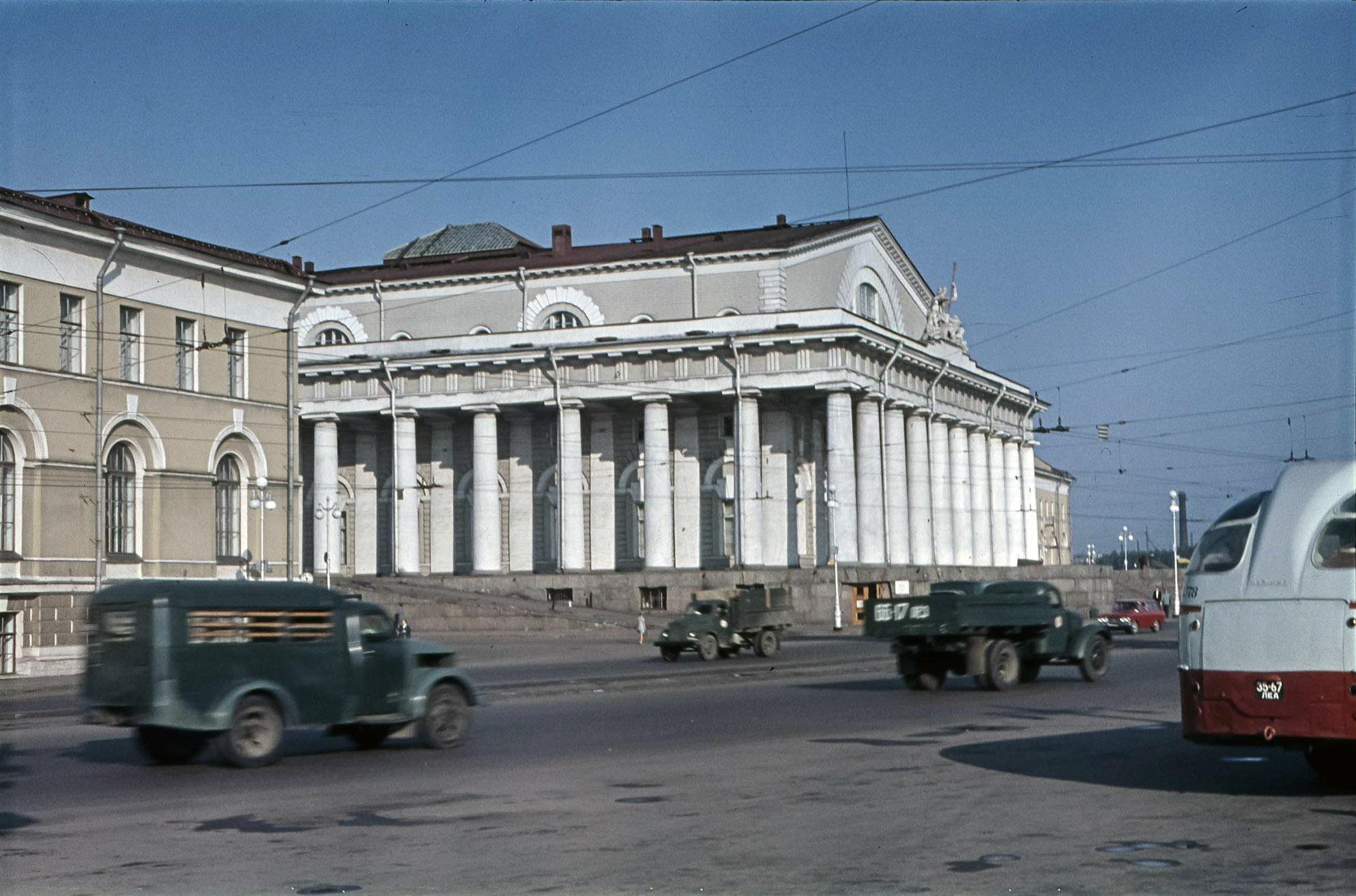 Ленинград.  Военно-морской музей