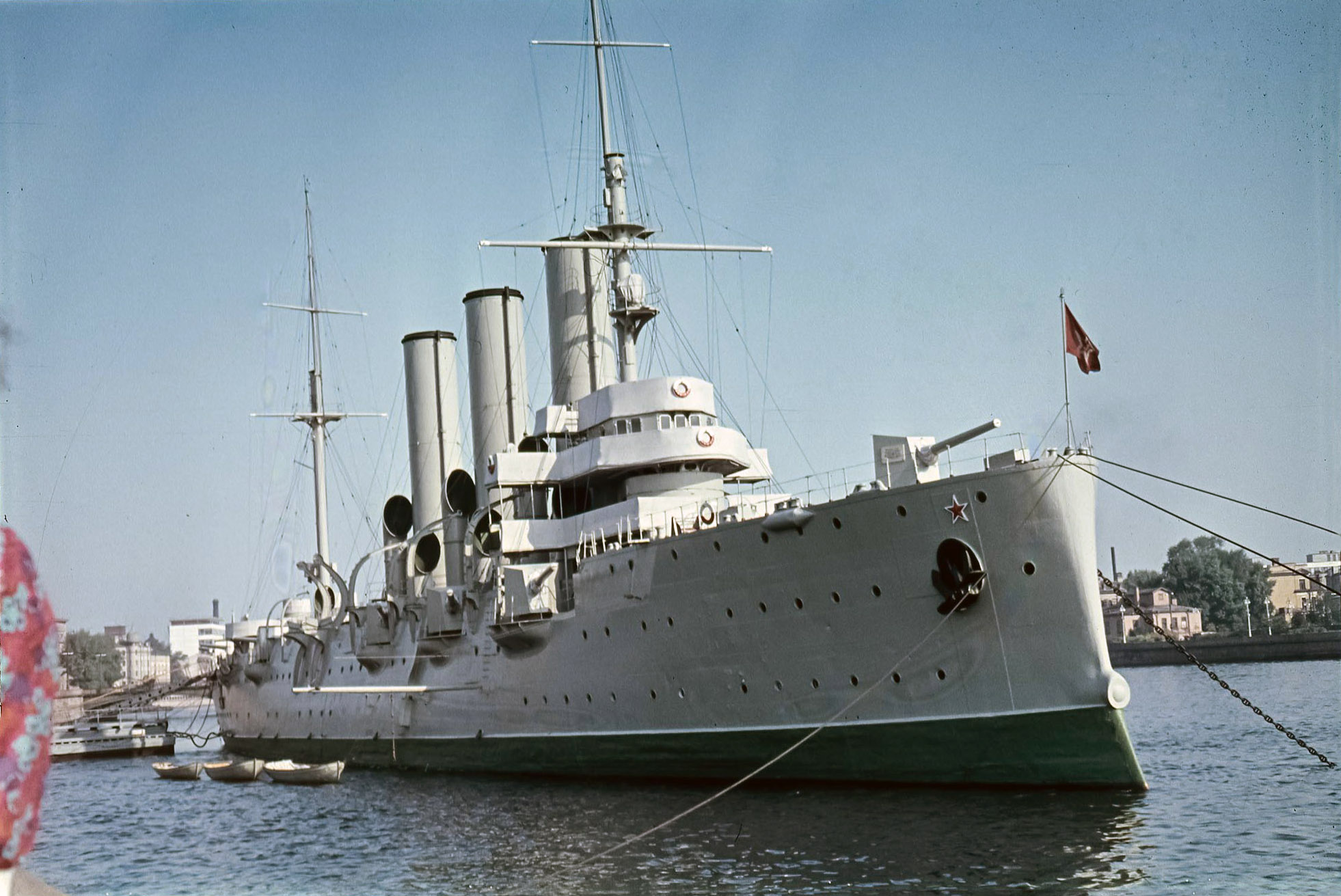 Ленинград. Крейсер «Аврора»