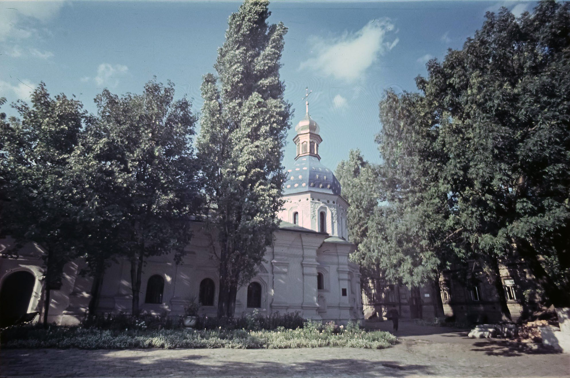 Киев. Церковь св. Николая в Николаевском больничном монастыре