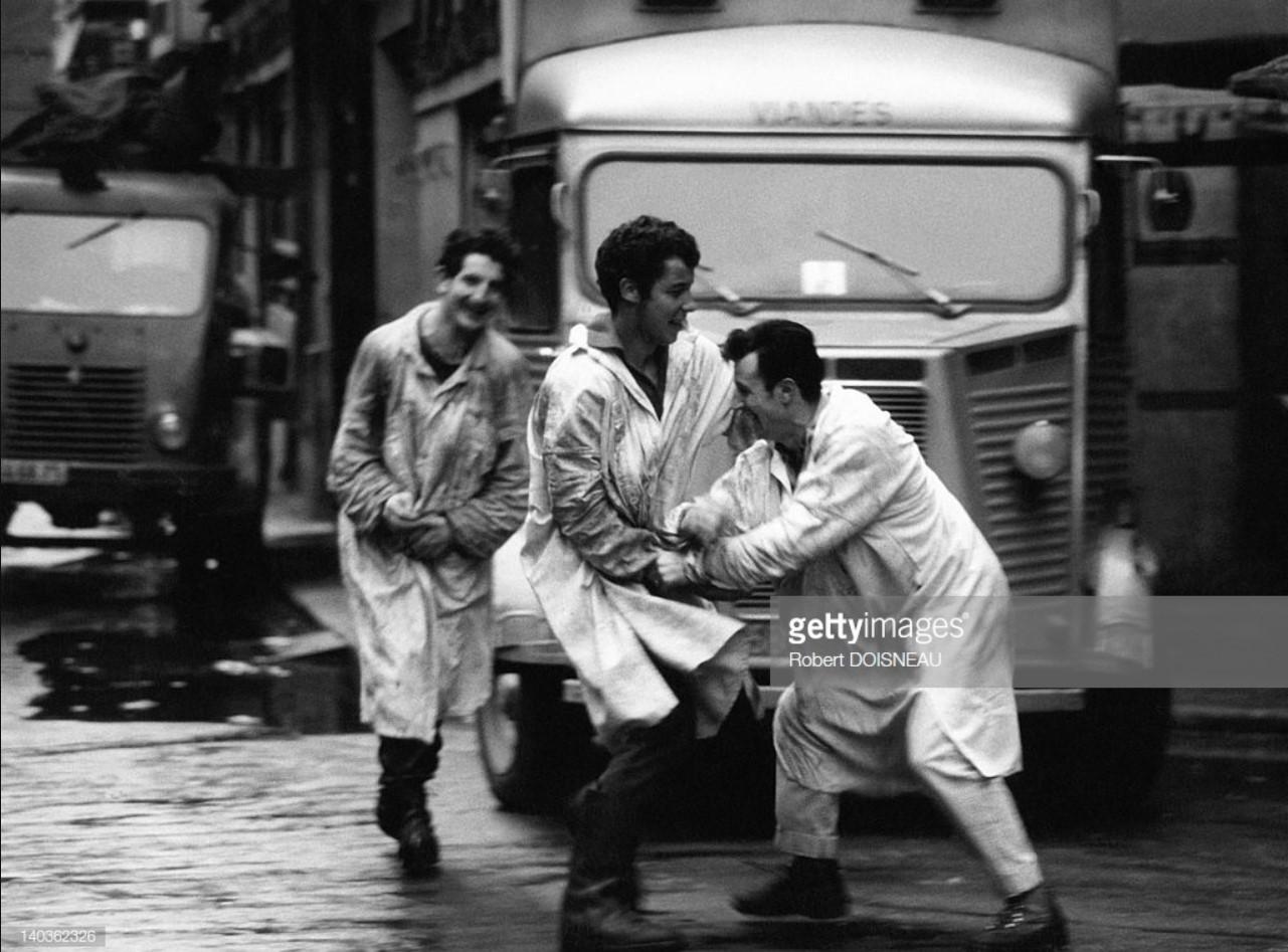 1967. Рыночные носильщики. Ле-Аль