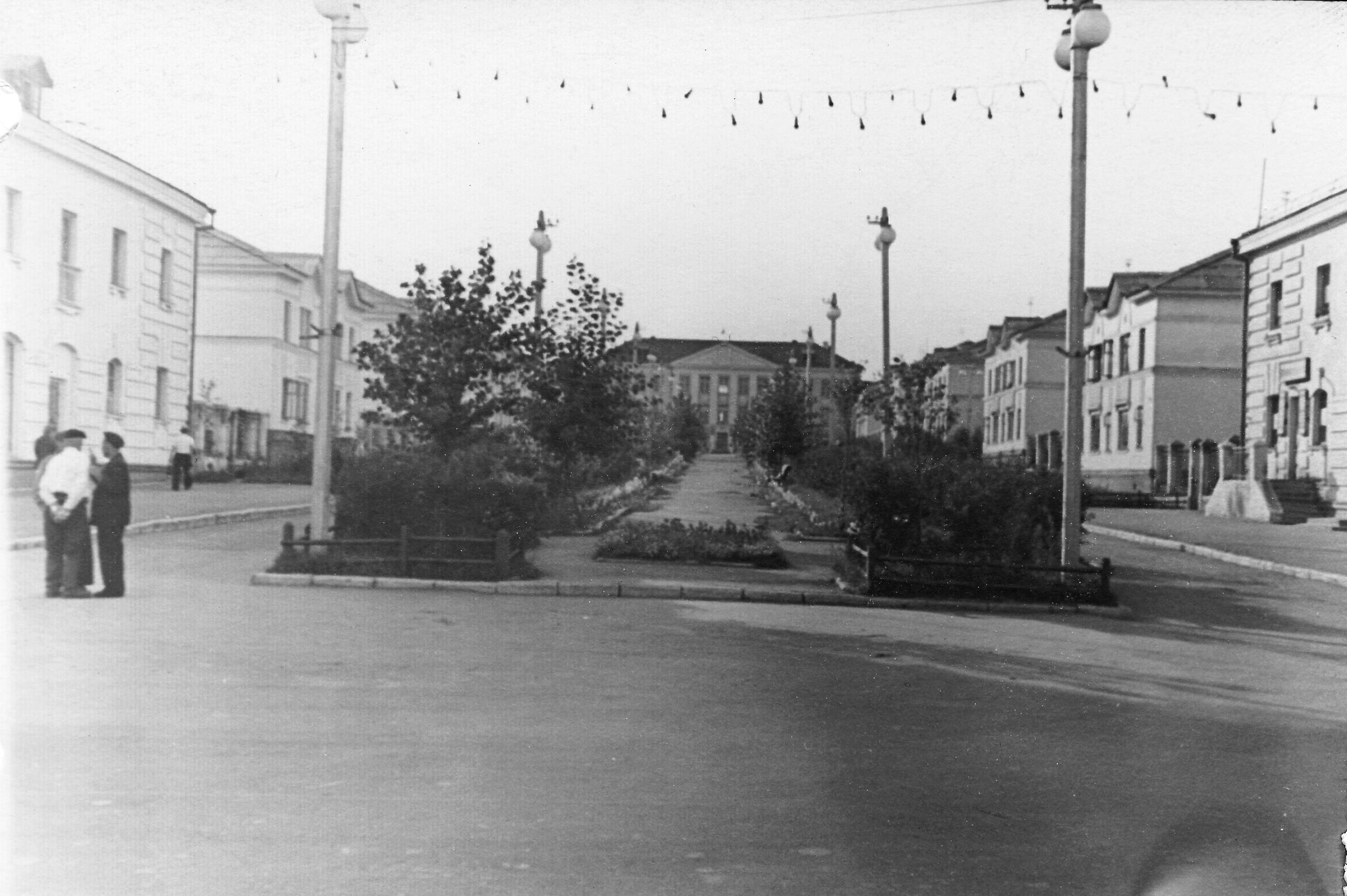 1960-е. Улица Бочкина
