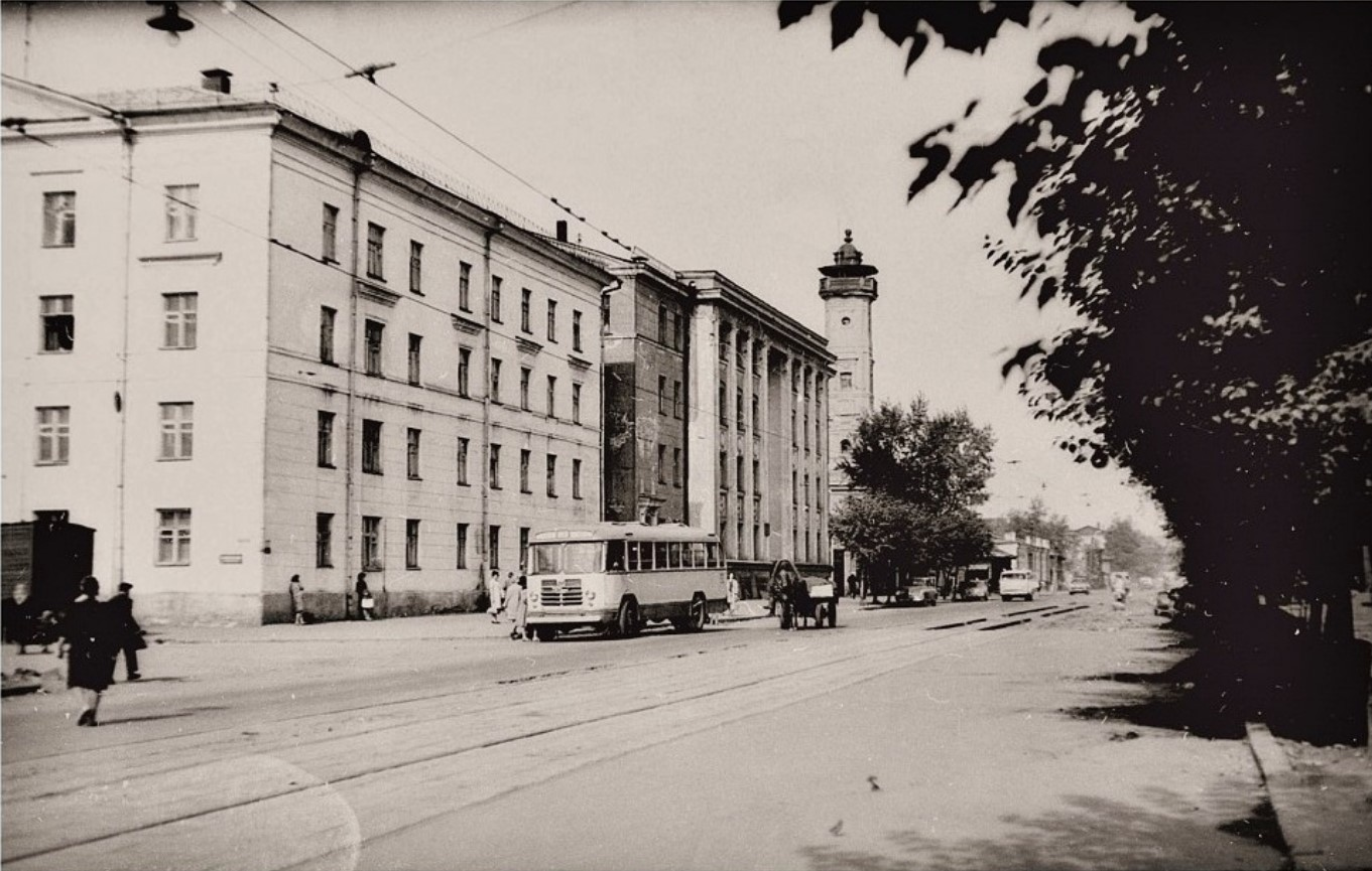 1965. Улица Тимирязева