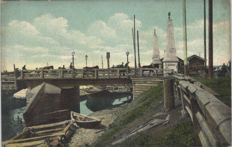 Въезд на Николаевский мост