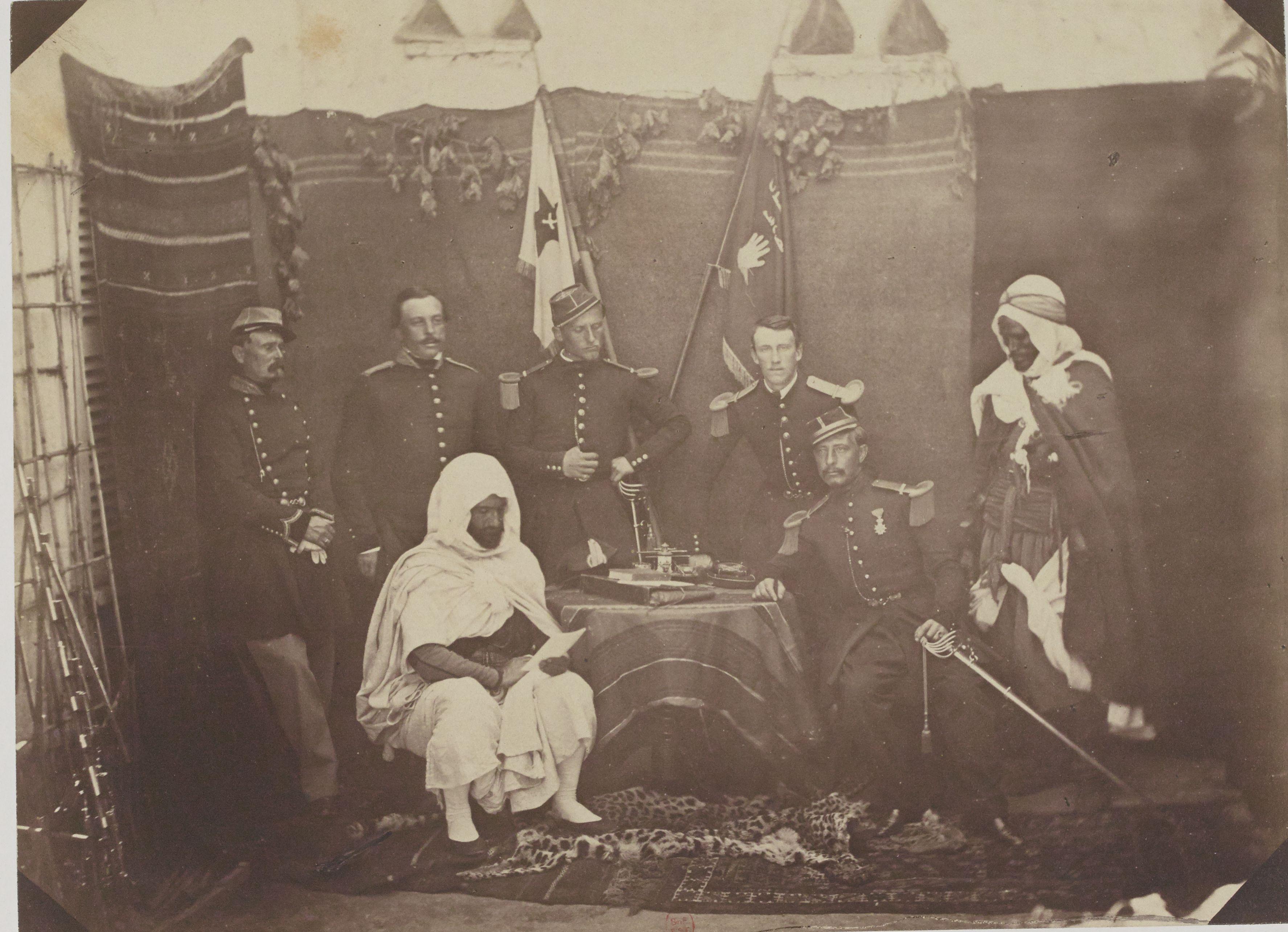 Арабское бюро Тлемсена. Капитан Церес