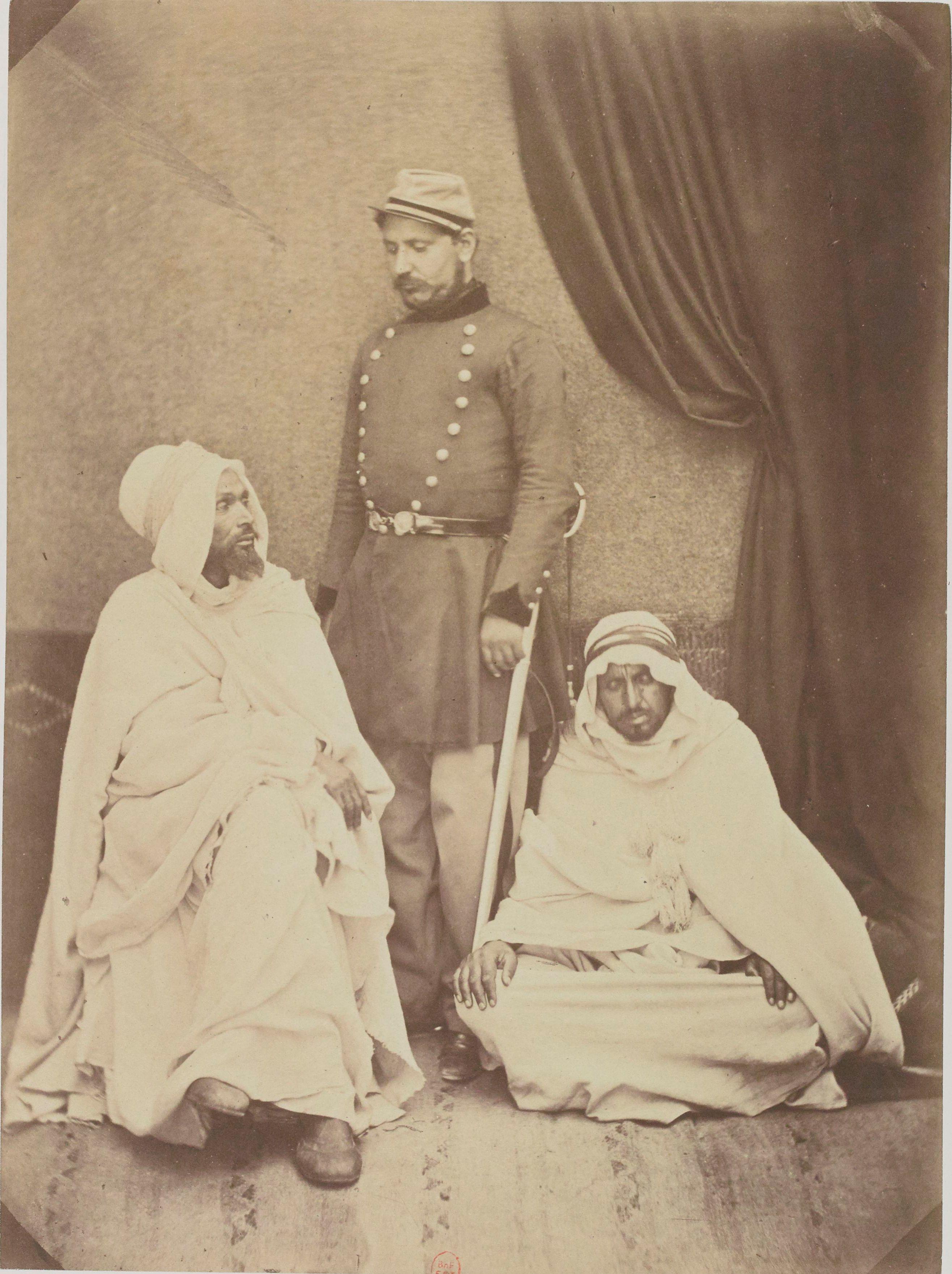 Саид, переводчик Арабского бюро, Мохаммед бен Али