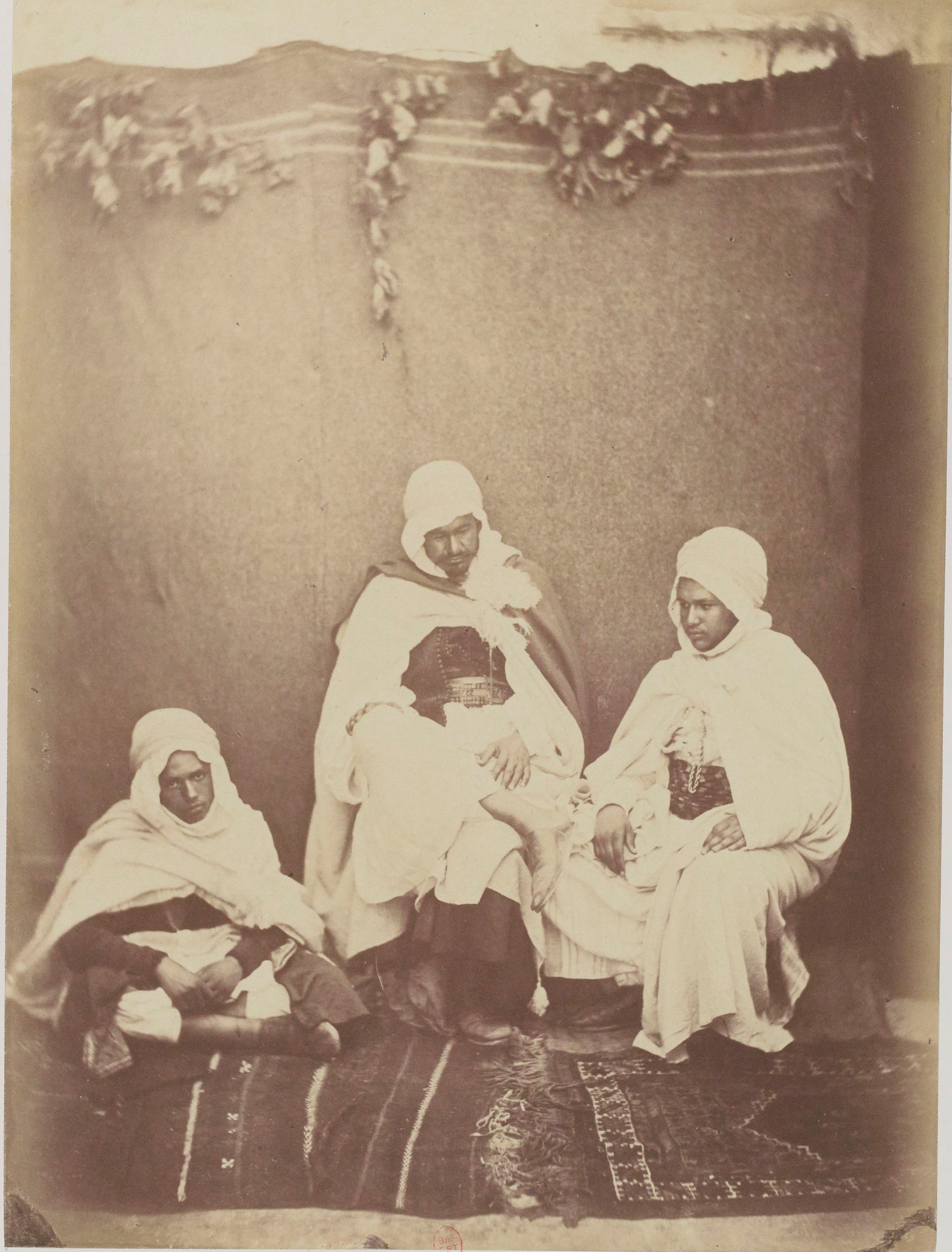 Муллех Сидик и два племянника, Мохаммед бен Абдалла и его младший брат (дети Бен-Абдаллы)