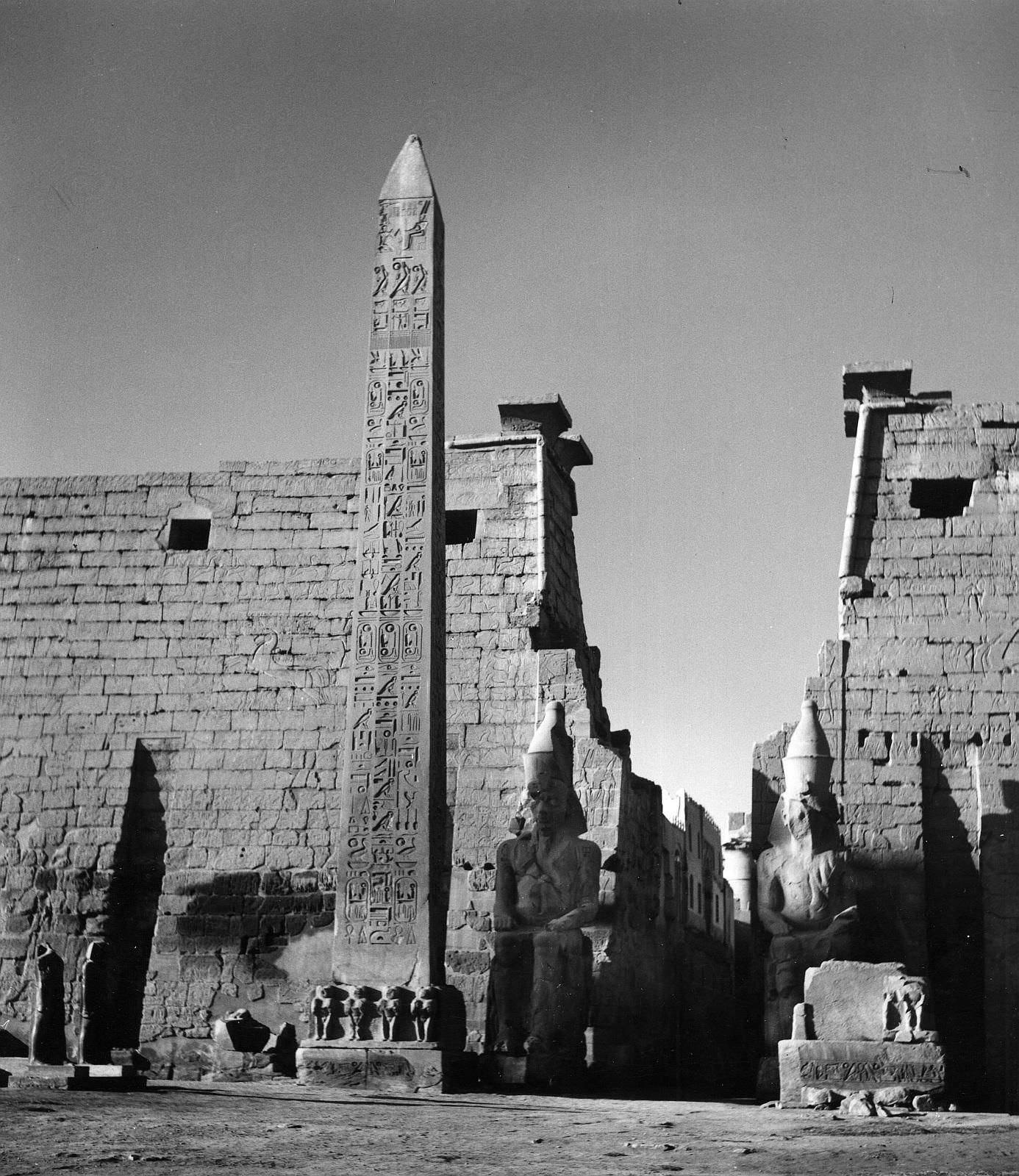 Луксор. Пилон Рамзеса II