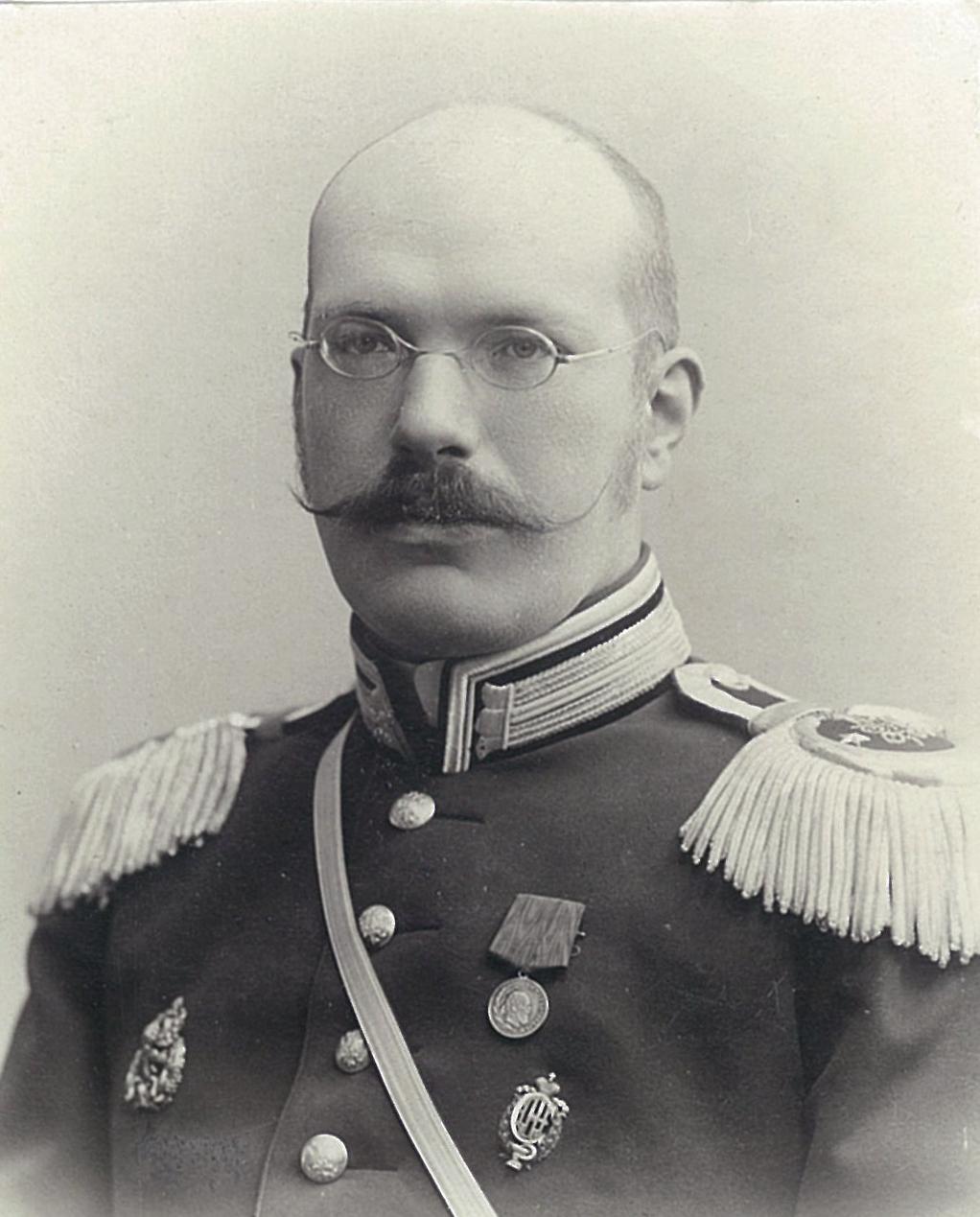 Василий Павлович Всеволожский в военной парадной форме без фуражки
