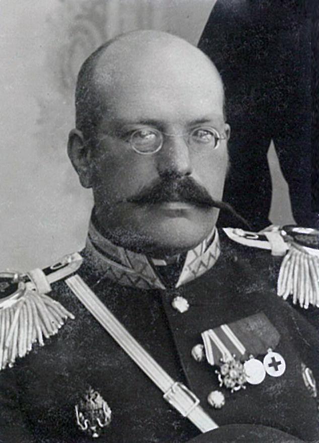 Василий Павлович Всеволожский в парадной военной форме без фуражк