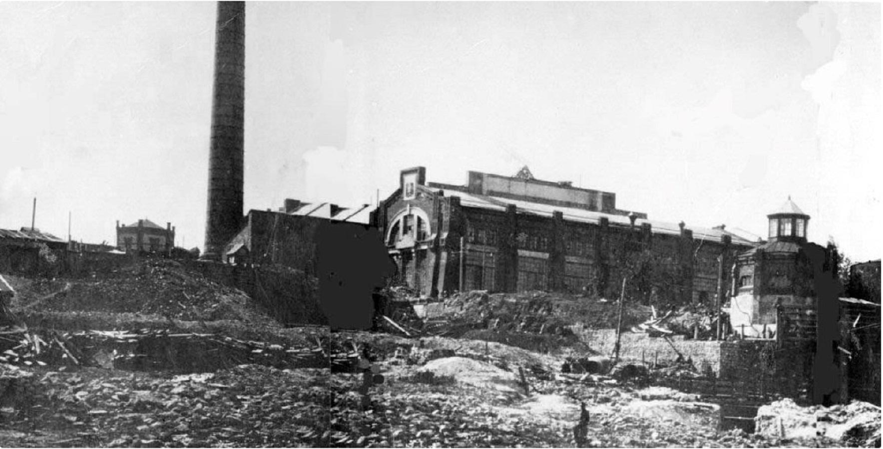 Самарская городская электростанция. 1901