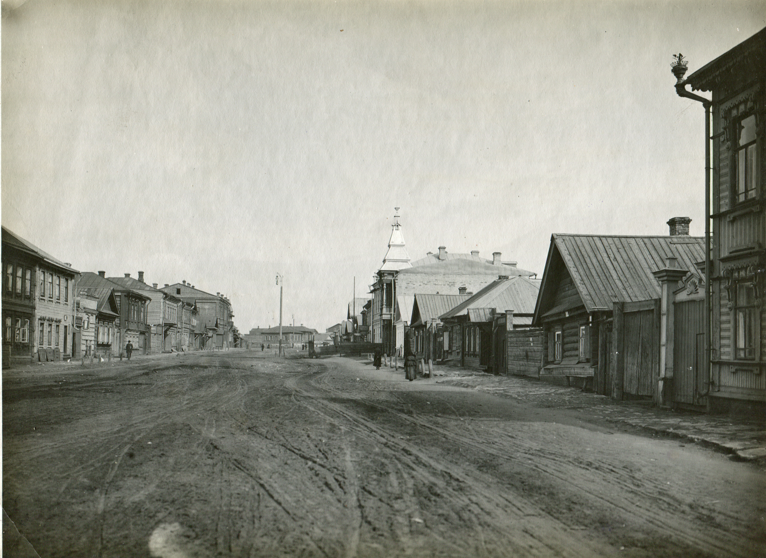 Улица Ильинская от улицы Алексеевской к Симбирской