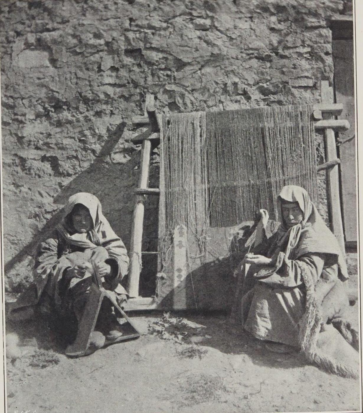 07. Дагестан. Изготовление ковров