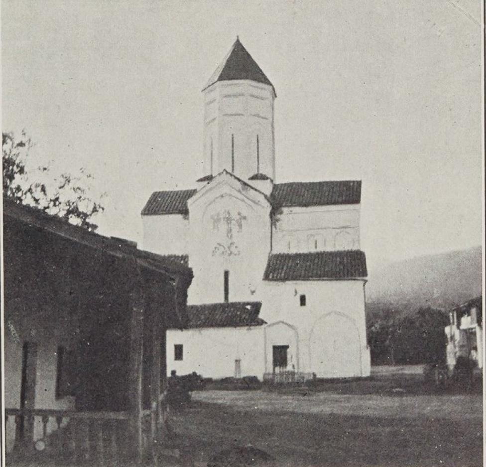 22. Монастырь Чуамти под Телатом, Кахети