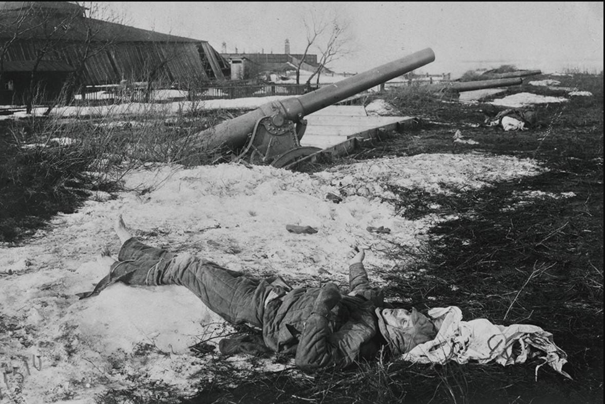 1921. Подавление Кронштадтского мятежа.