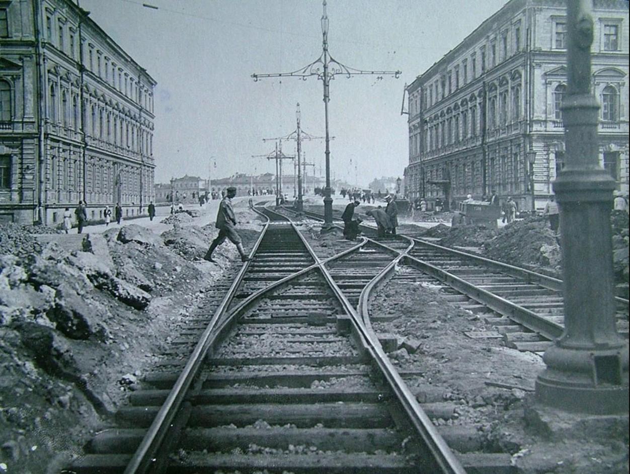 1923. Проспект Володарского у Литейного моста