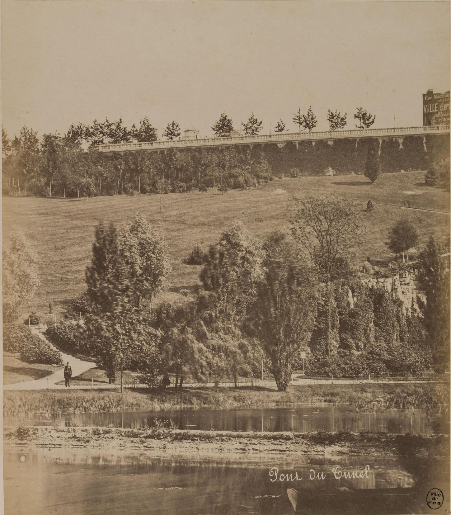 06. Туннельный мост, вид на озеро до улицы Боцарис