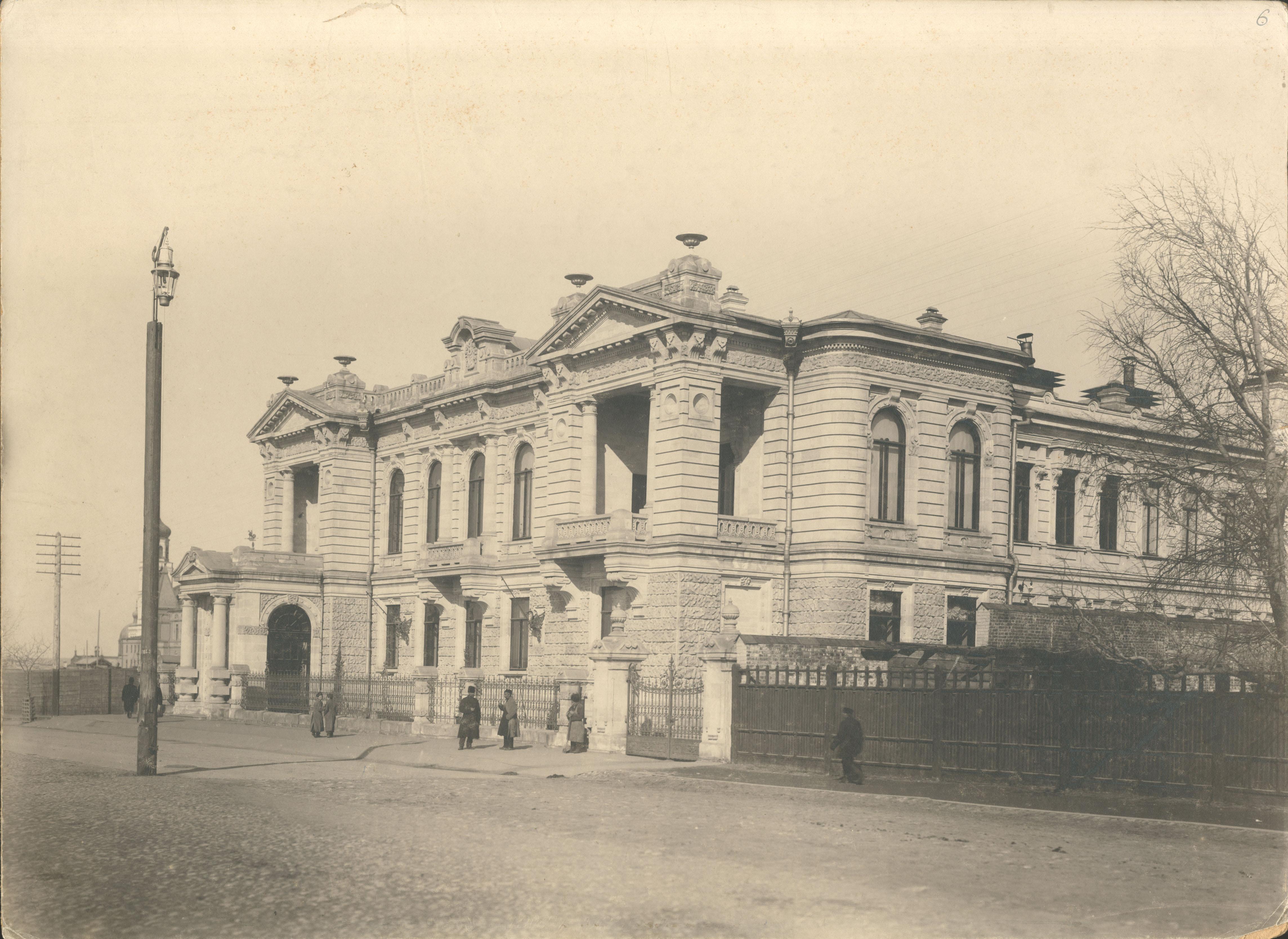 Дом, принадлежавший А.Н. Наумову, на улице Дворянской