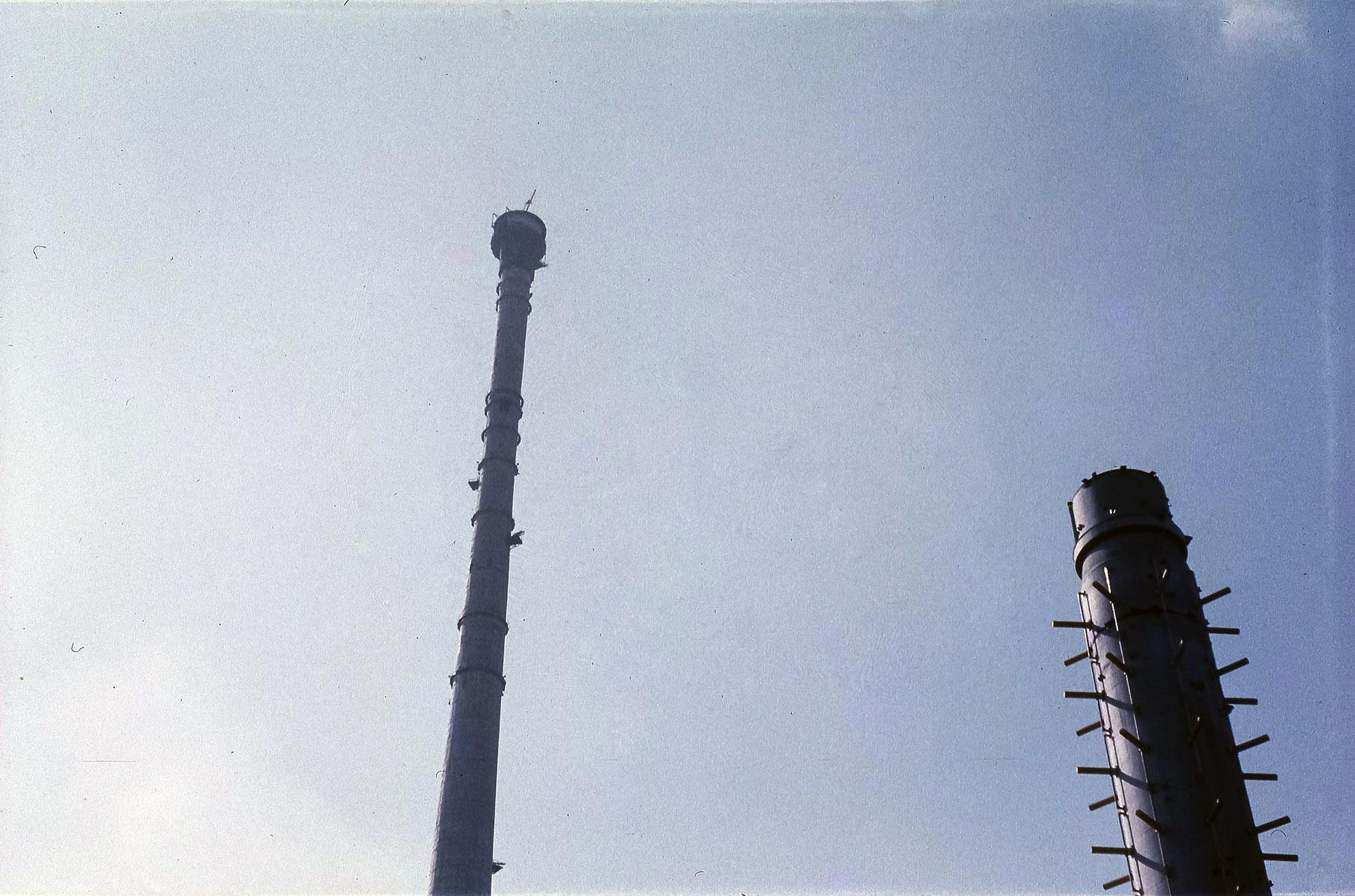 Строительство телебашни в Останкино