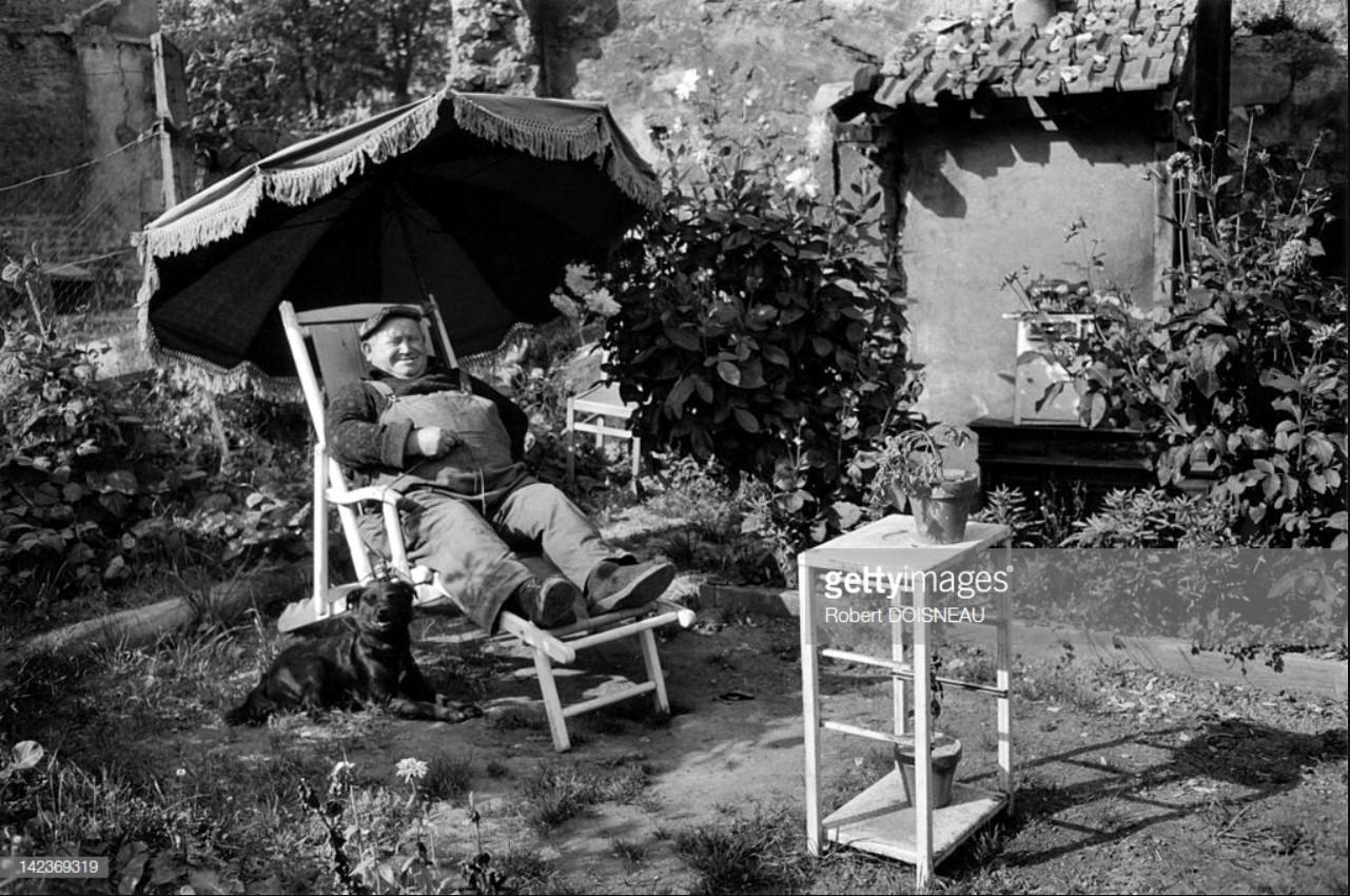1965. Счастливый человек в своем саду, Витри