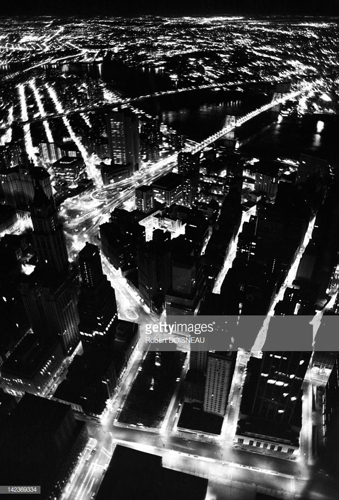 1981. Нью-Йорк ночью