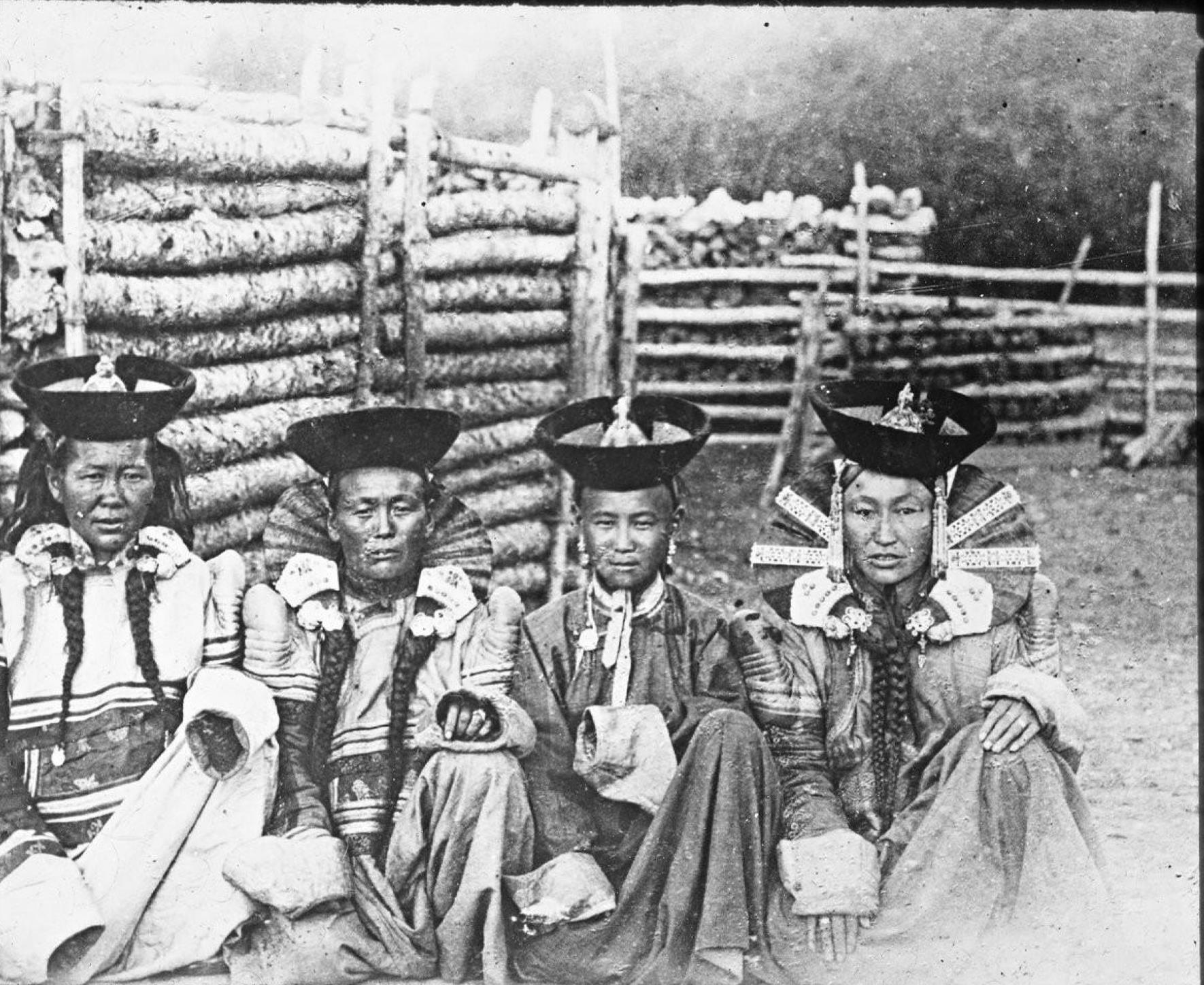 Монгольские женщины