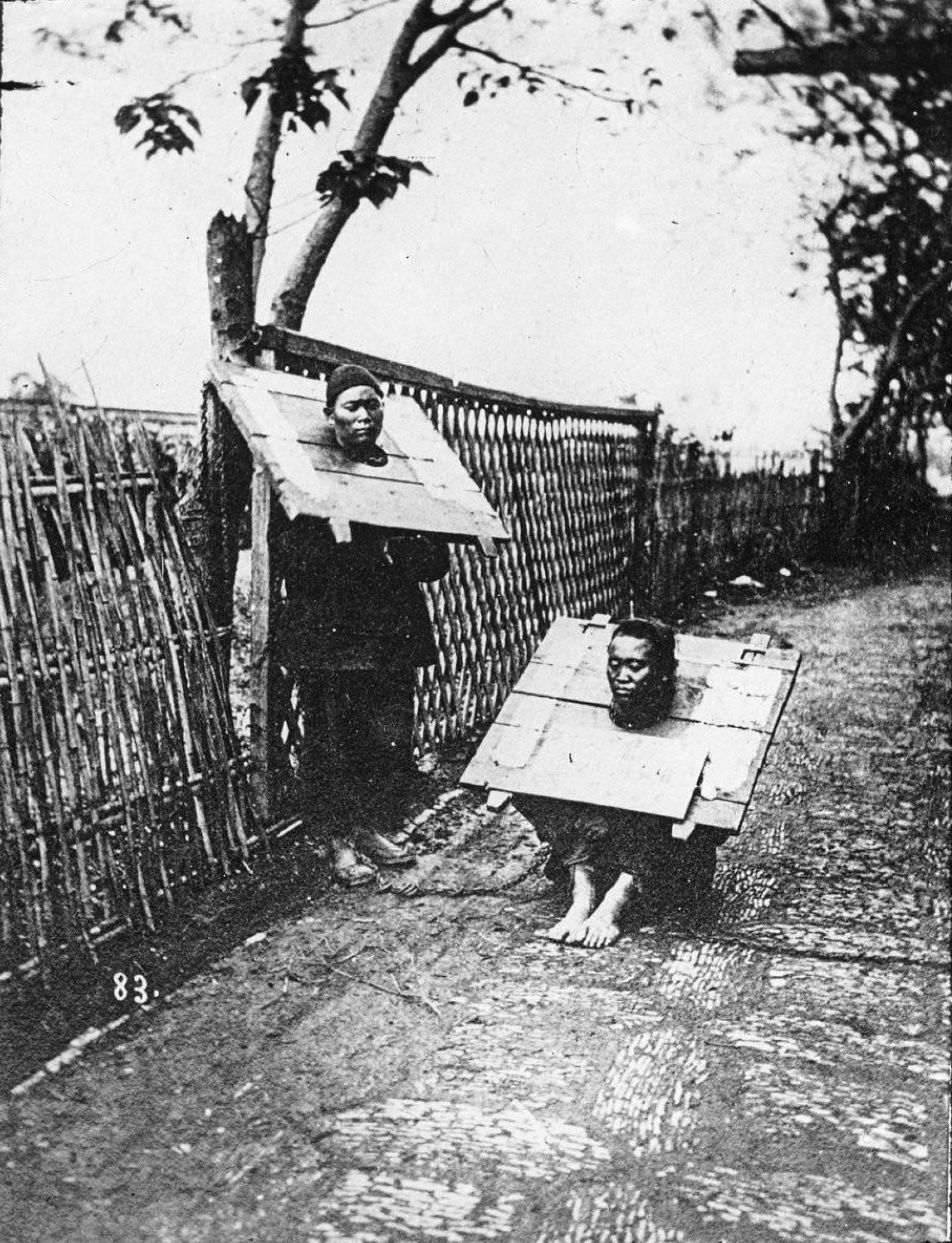 Сахалин. Китайские заключенные