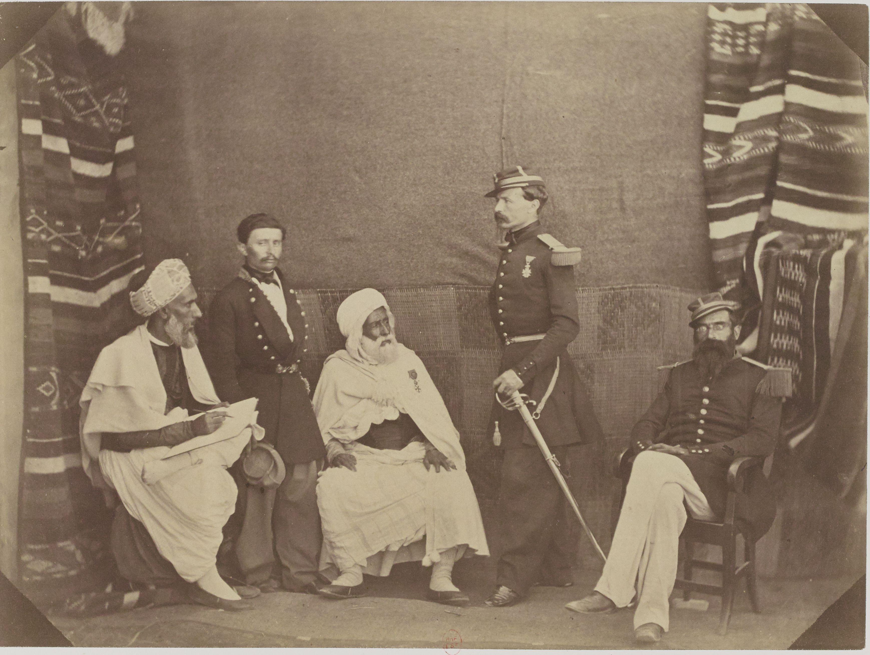 05. Арабское бюро Орана.  Мохаммед бен Ахмед. Г-н Pobeau. Эль-Хадж Мазари. Командир Чанзи. Капитан Лолио