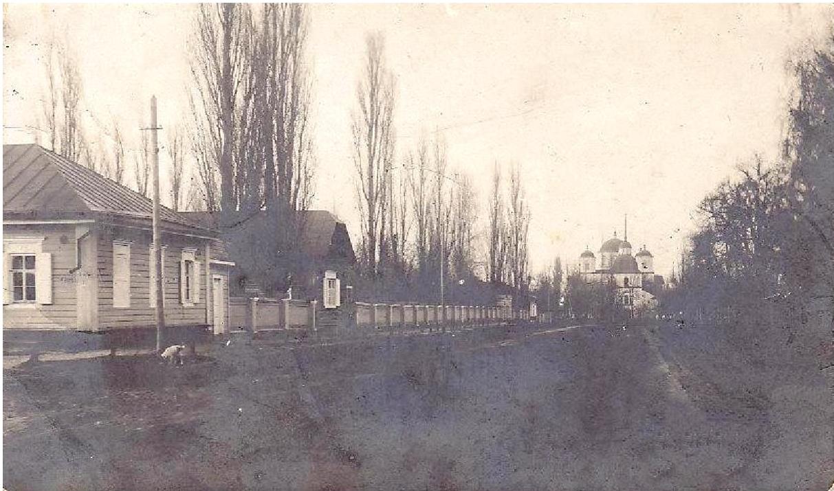 Монастырская улица.