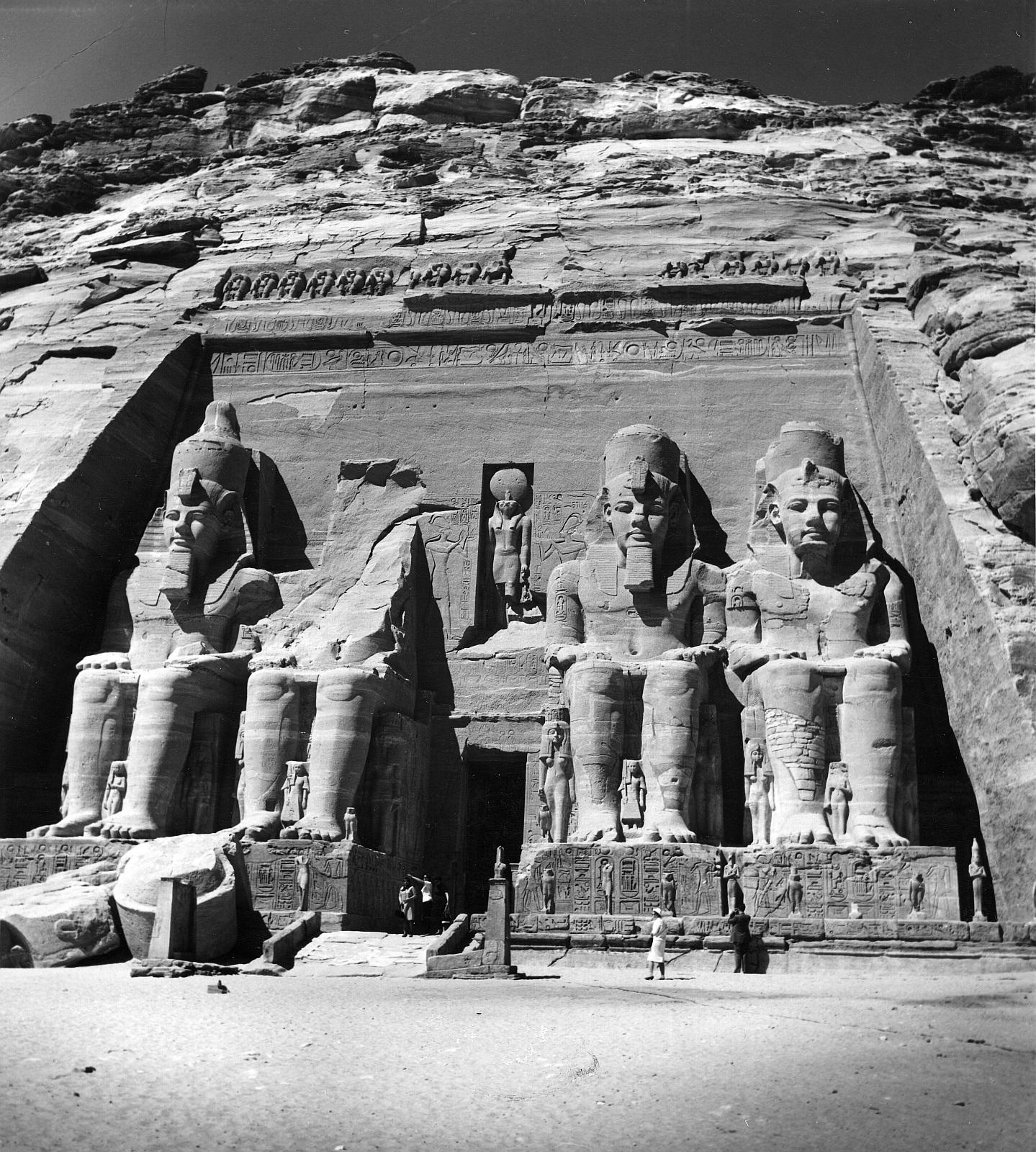 Абу-Симбел. Великий Храм. Главный фасад