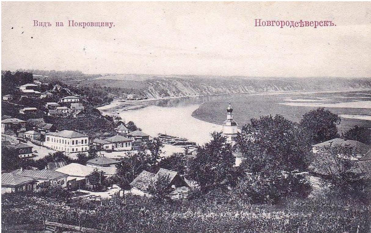 Вид на Покровщину.