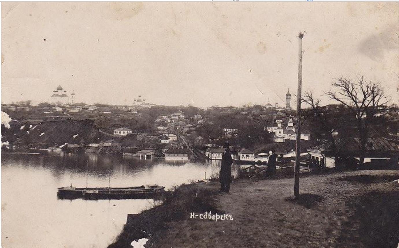 Вид на город с р. Десна