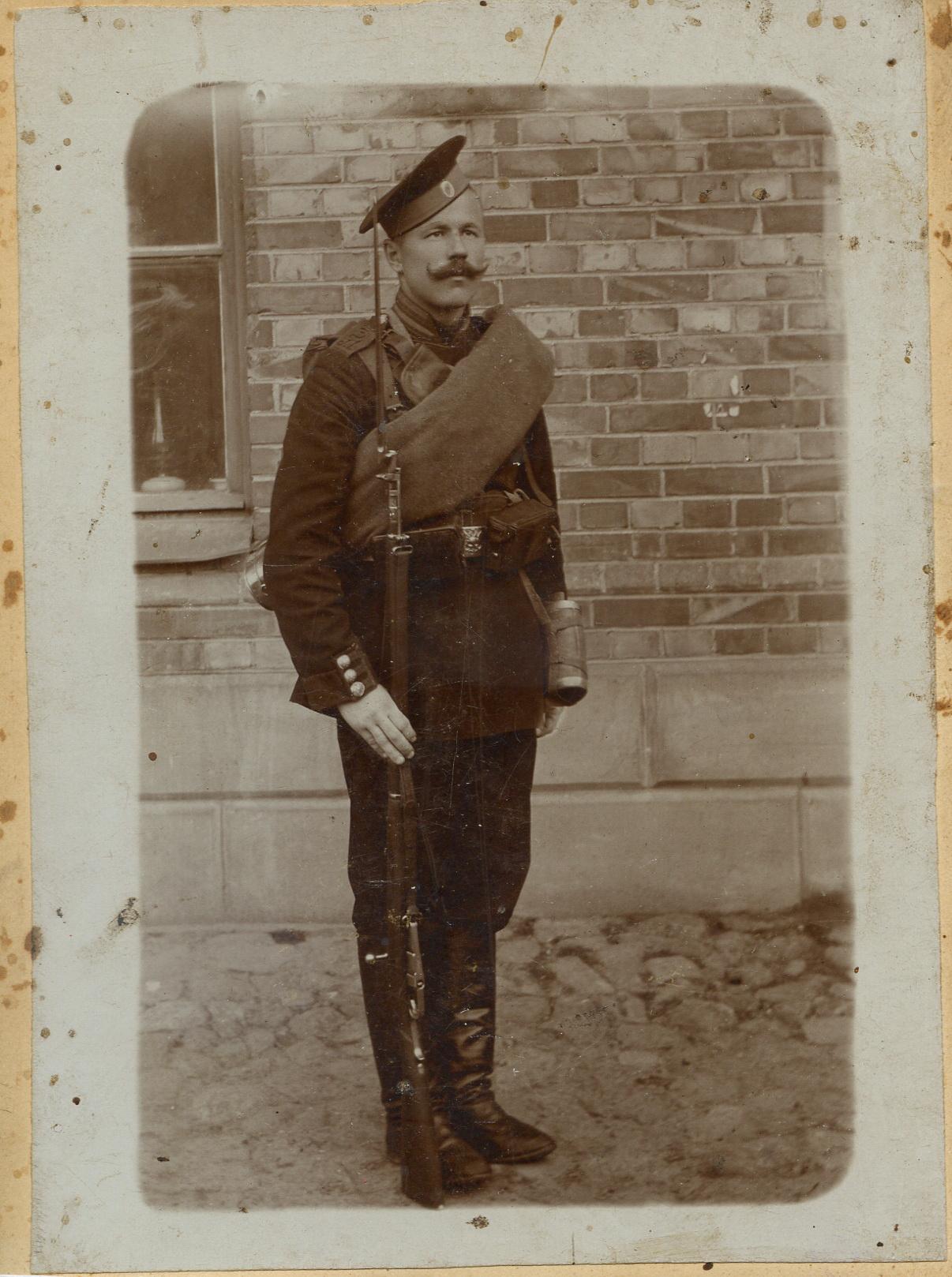 1915. Участник Первой мировой войны. Семеновский полк