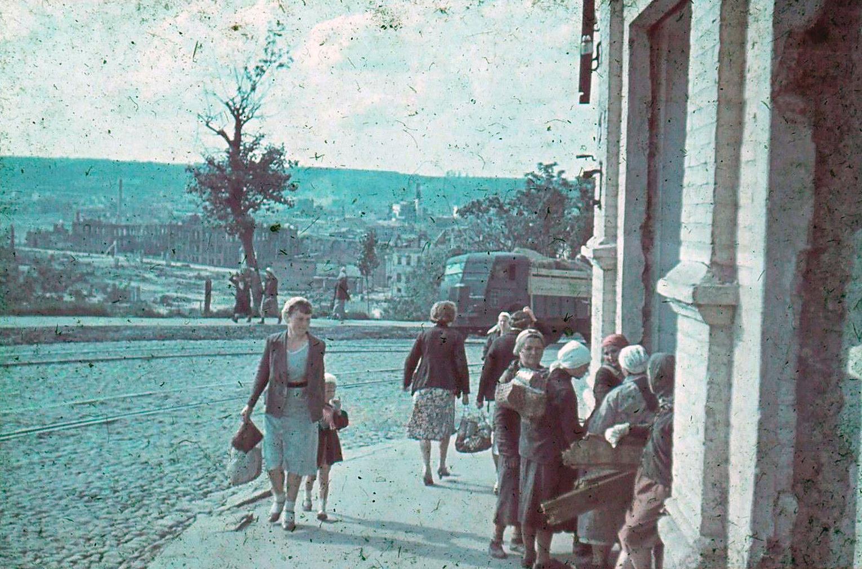 1941. На улице Большая Советская