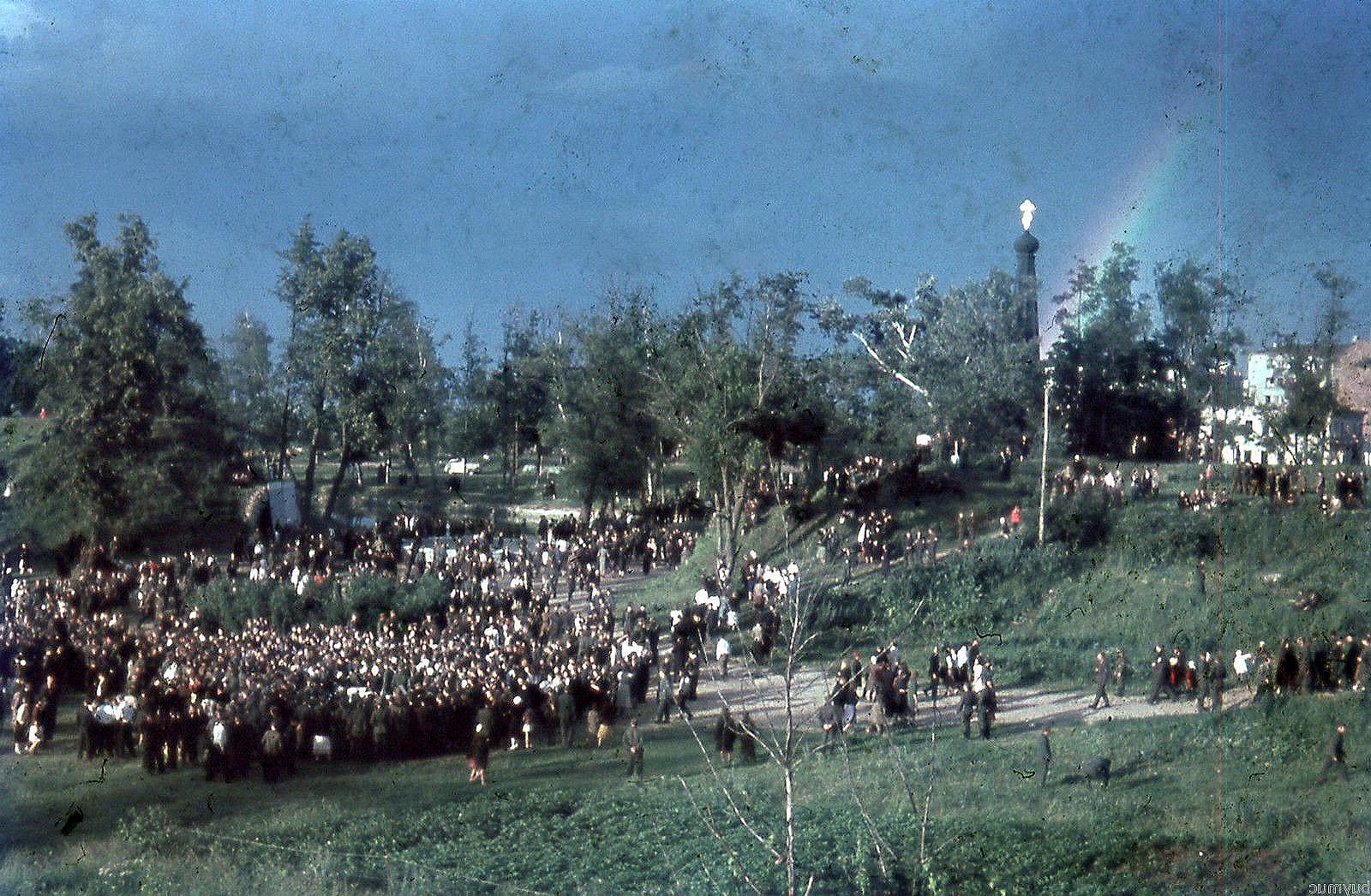 1943. Празднование 2-й годовщины «освобождения Смоленска». 16 июля  (4)