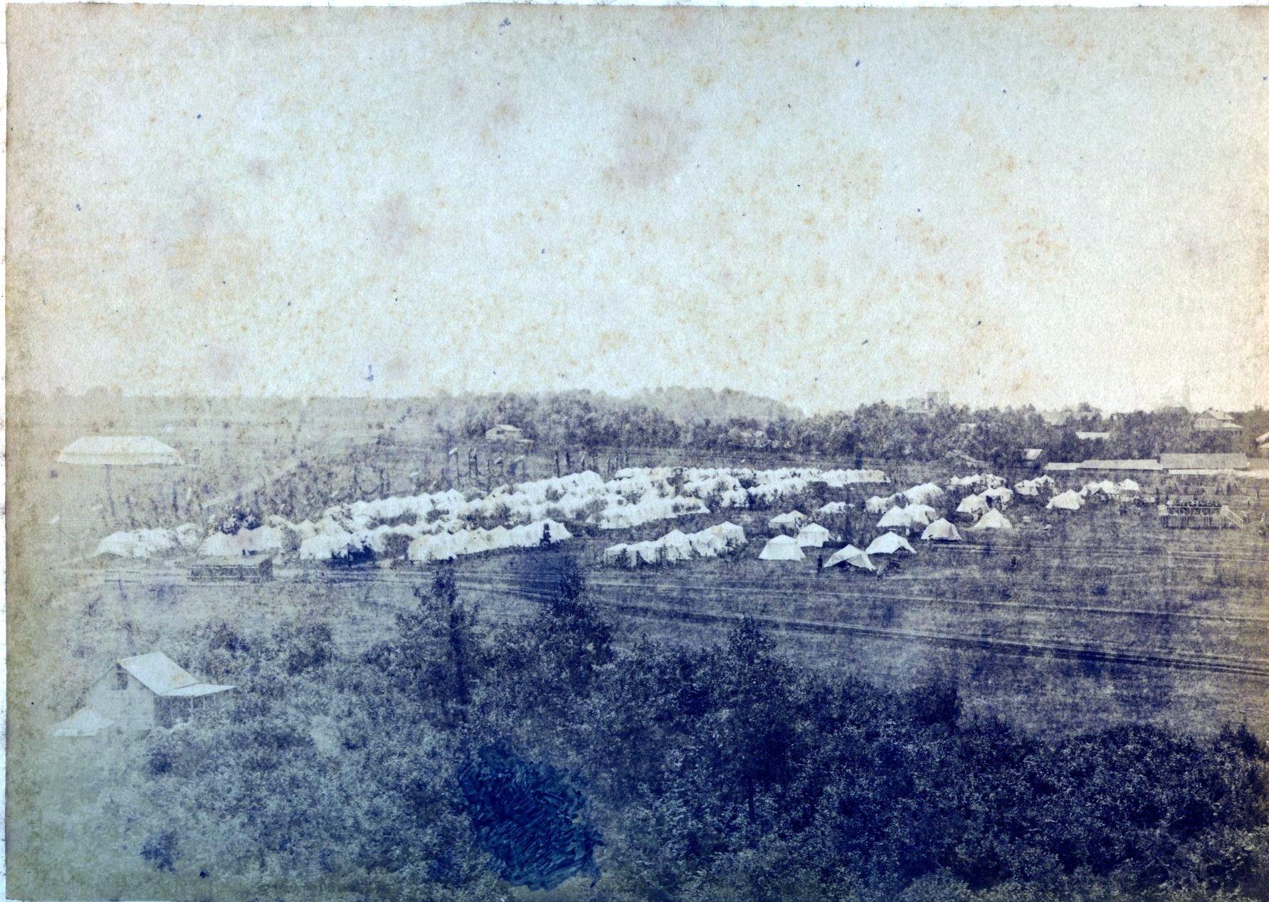 Лагерь гурийцев в Самаре