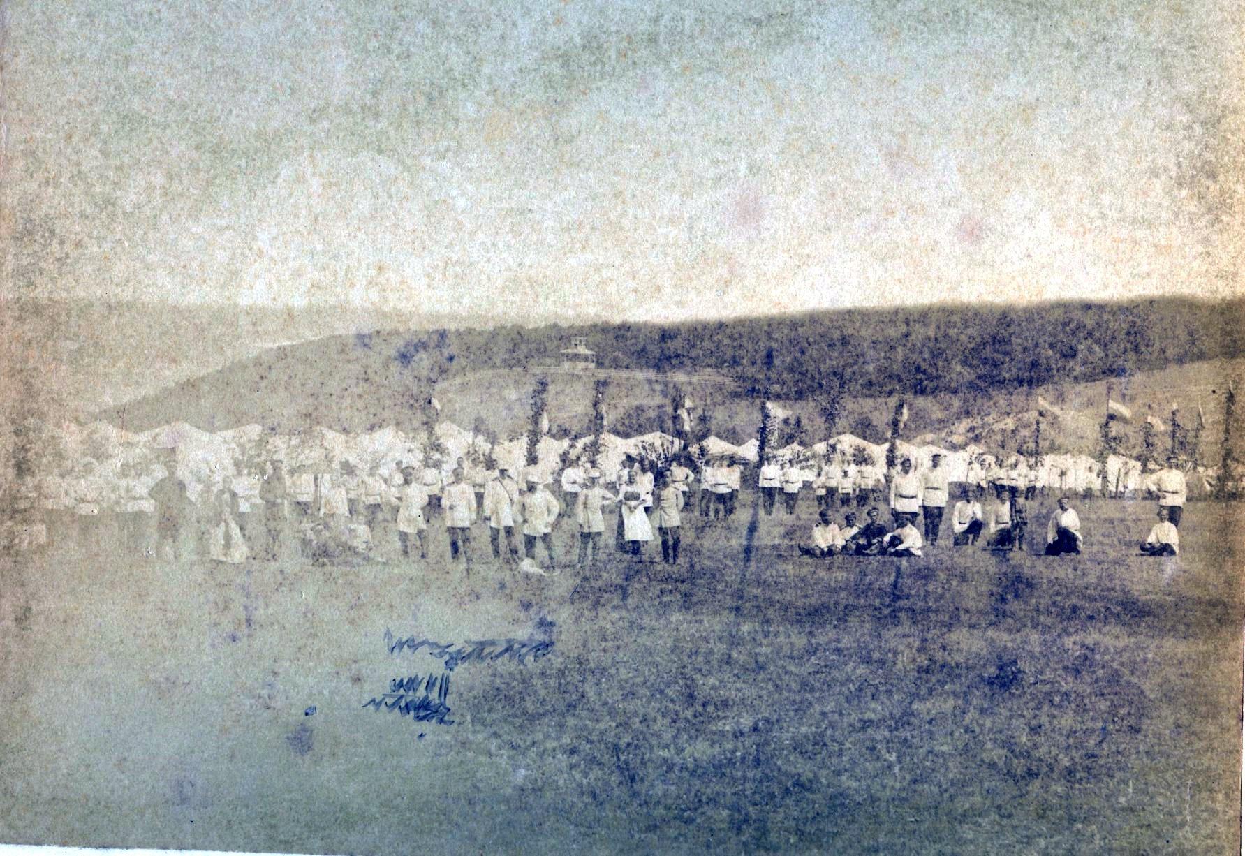 Лагерь гурийцев