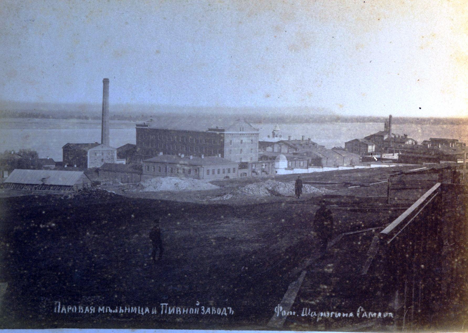 Паровая мельница и пивной завод