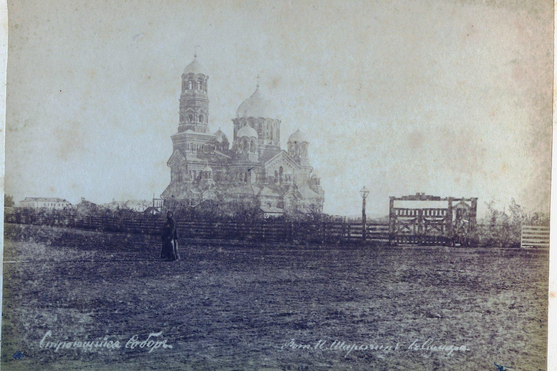 Строящийся кафедральный собор