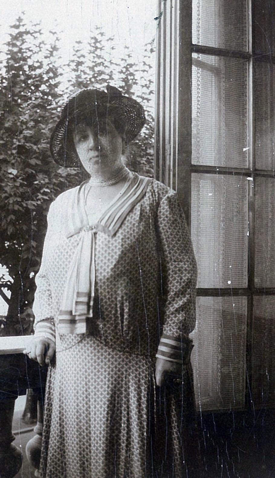 Лидия Всеволожская в эмиграции в Париже, 1920-е годы