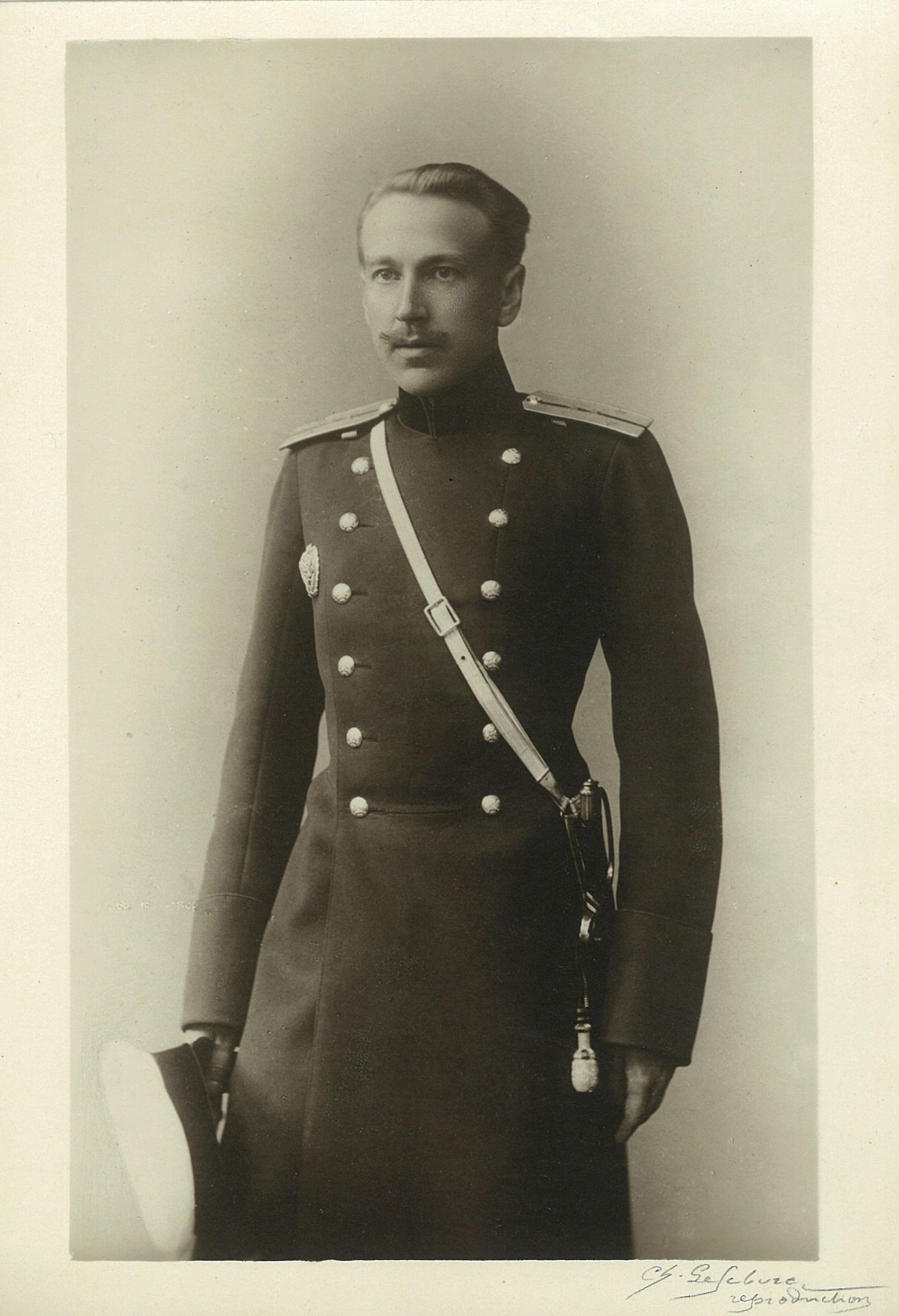 Капитан Сергей Филиппович Собин, военный инженер, брат Лидии Филипповны Всеволожской. Скончался в чине полковника в Париже. 1930