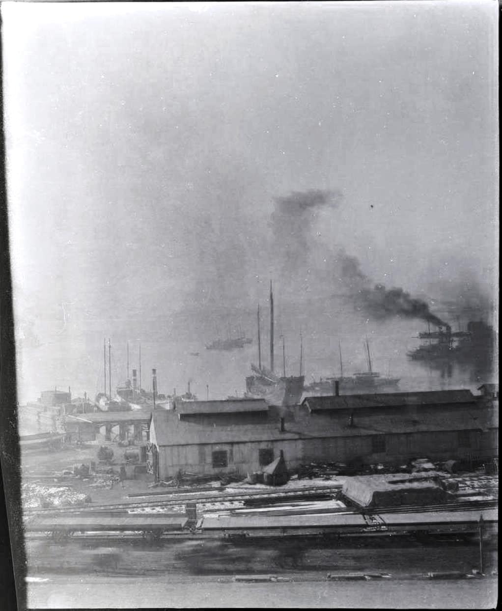 13. Порт-Артур. Торговый порт