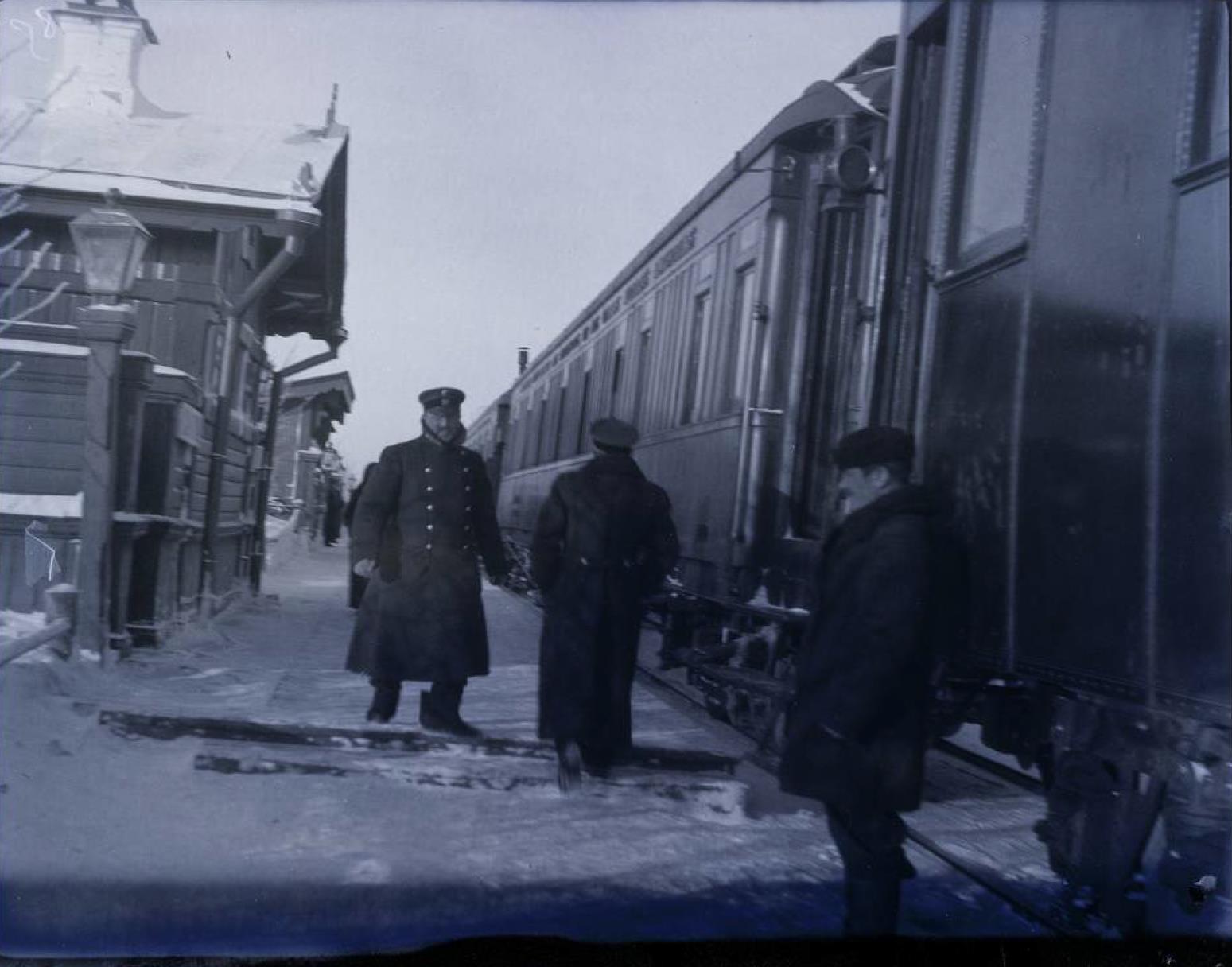 31. Вокзал на Урале