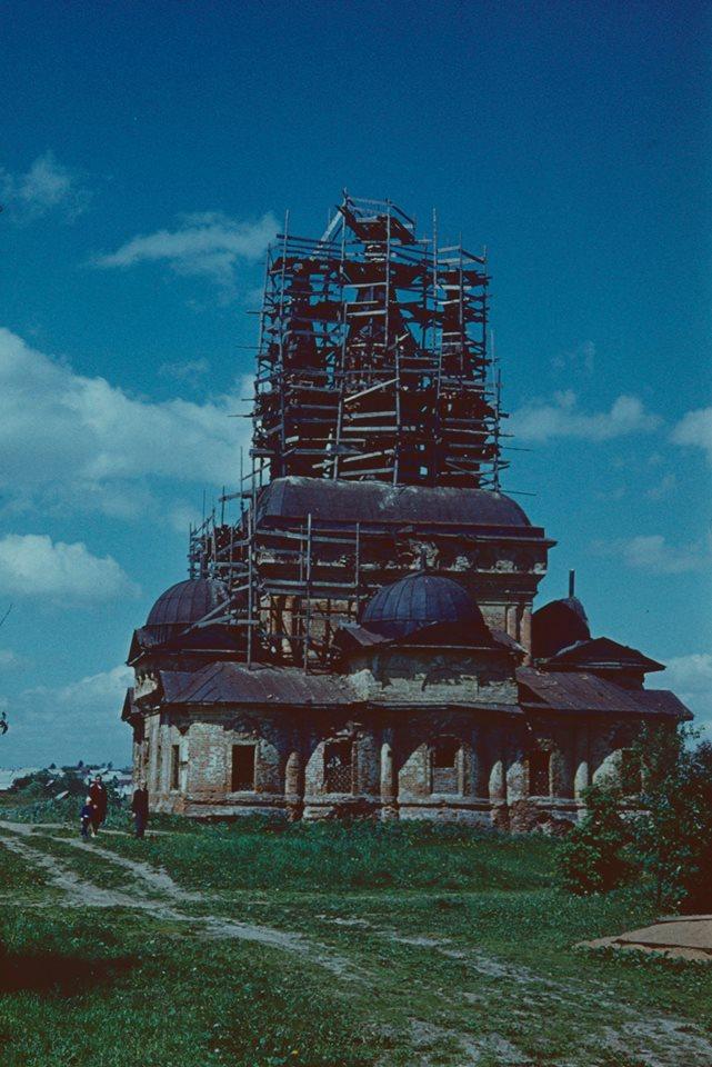 Вязьма. Церковь Б. М. Одигитрии в Иоанно-Предтеченском монастыре