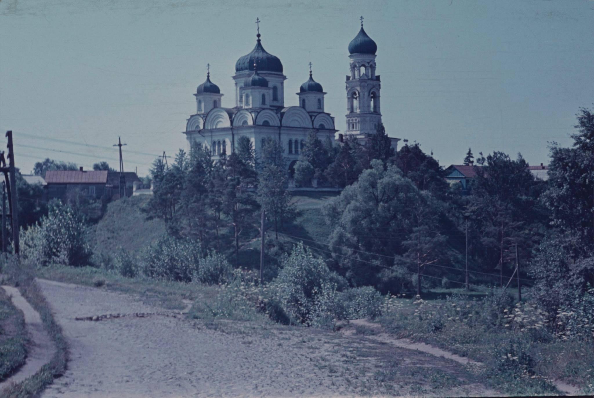 Торжок. Вид на Благовещенскую церковь