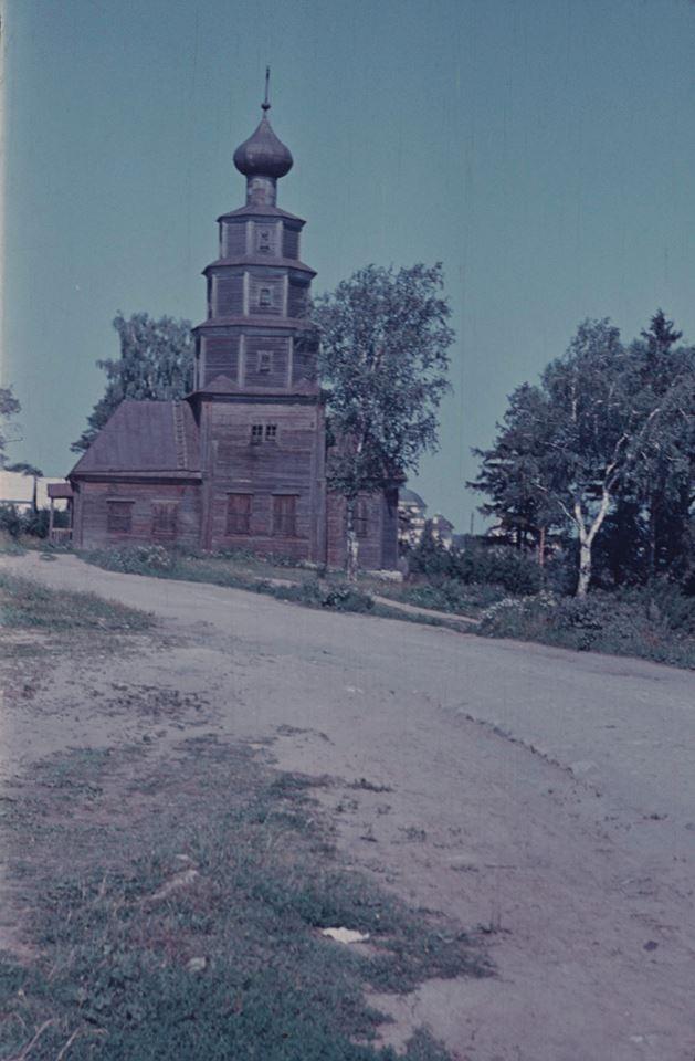 Торжок. Тихвинская деревянная церковь