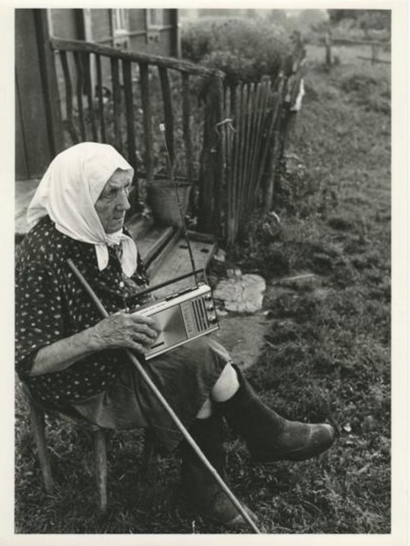1981. Ахломов Виктор Васильевич. Бабушка Прасковья из деревни Станы